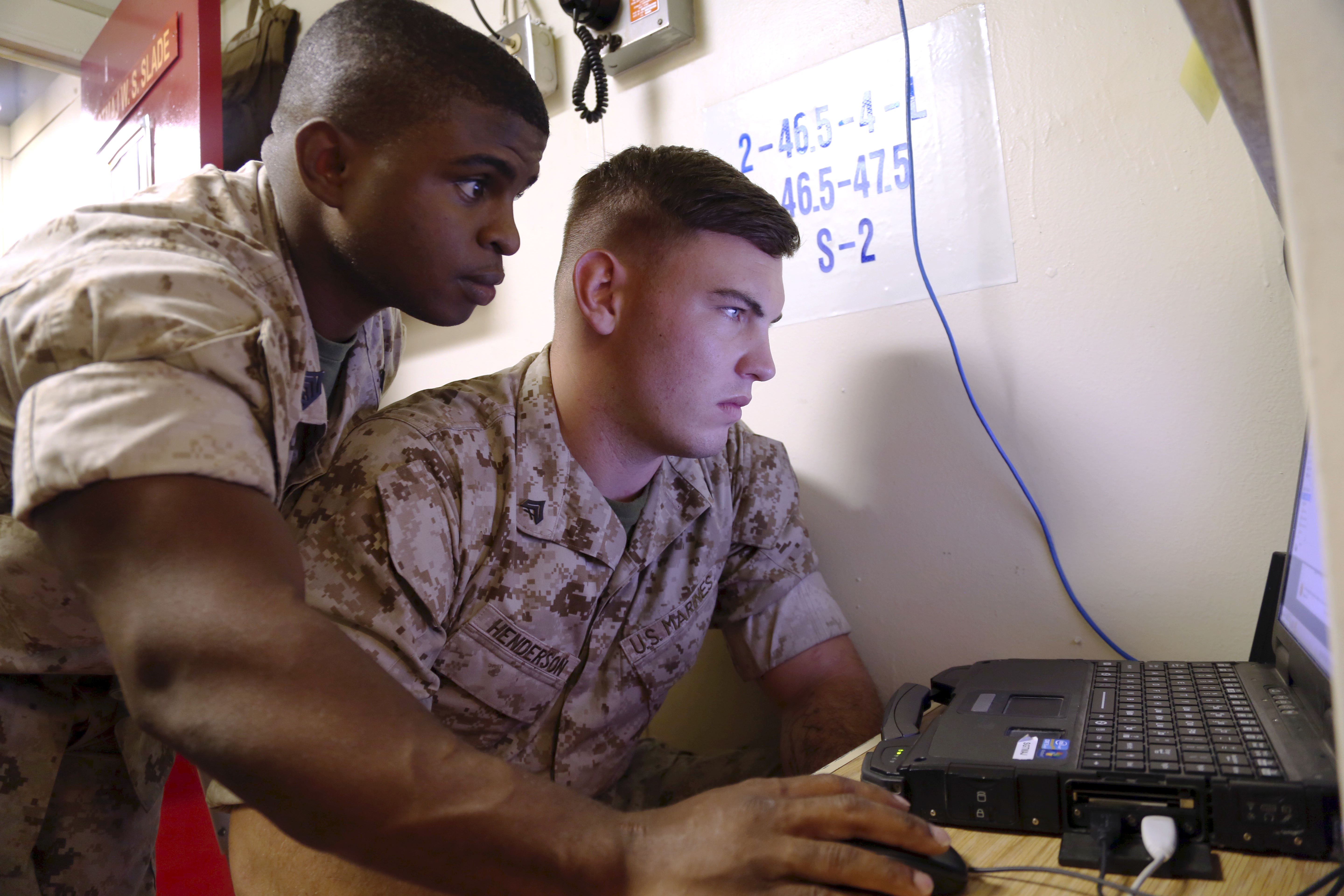 MARFORCYBER is partnering with other Marine Corps organizations such as Systems Command to equip their cyber warriors. (Staff Sgt. Terika S. King/Marine Corps)