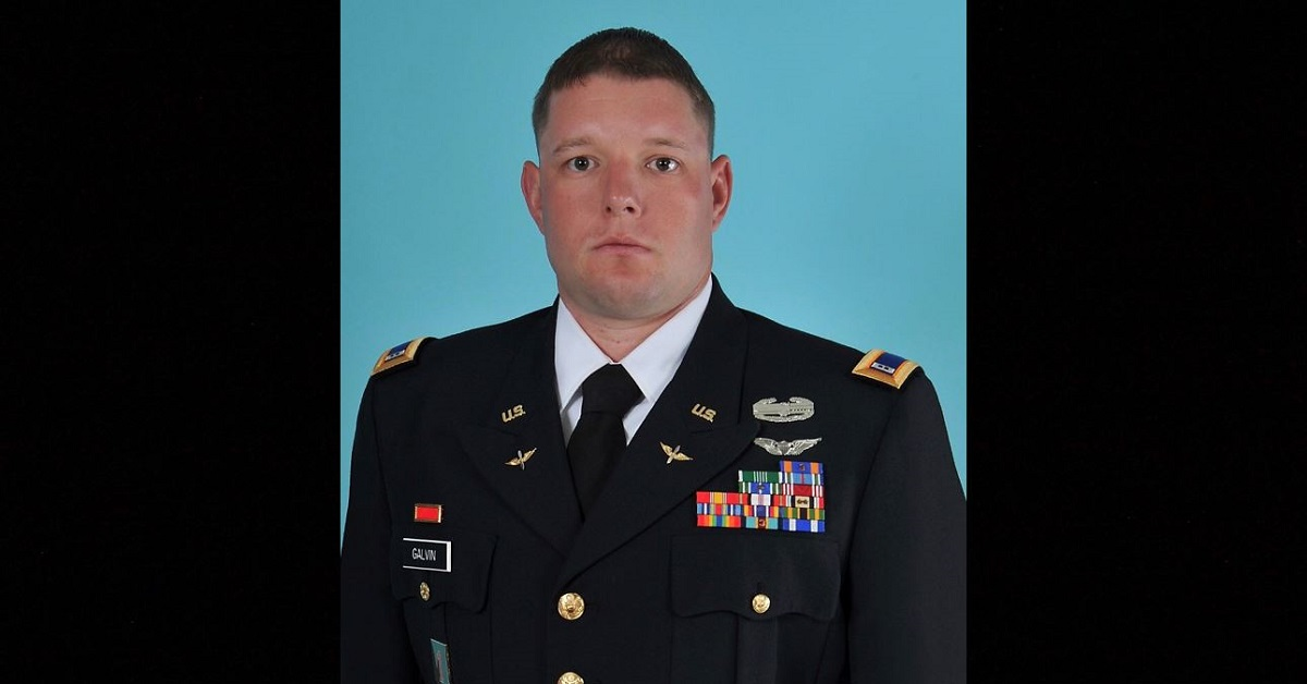 Chief Warrant Officer 3 Taylor Galvin, assigned to the 160th Special Operations Aviation Regiment out of Fort Campbell, Kentucky, died Monday while deployed in support of Operation Inherent Resolve. (Army)