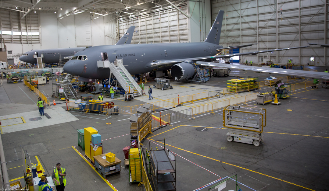 Production lines for military equipment might face challenges in the future, as the industrial base ages out. (Jeff Martin/Staff)
