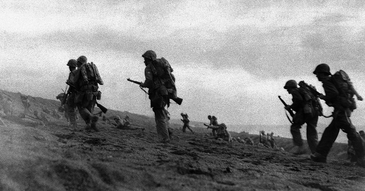 The Battle of Iwo Jima: A 36-day bloody slog on a sulfuric island