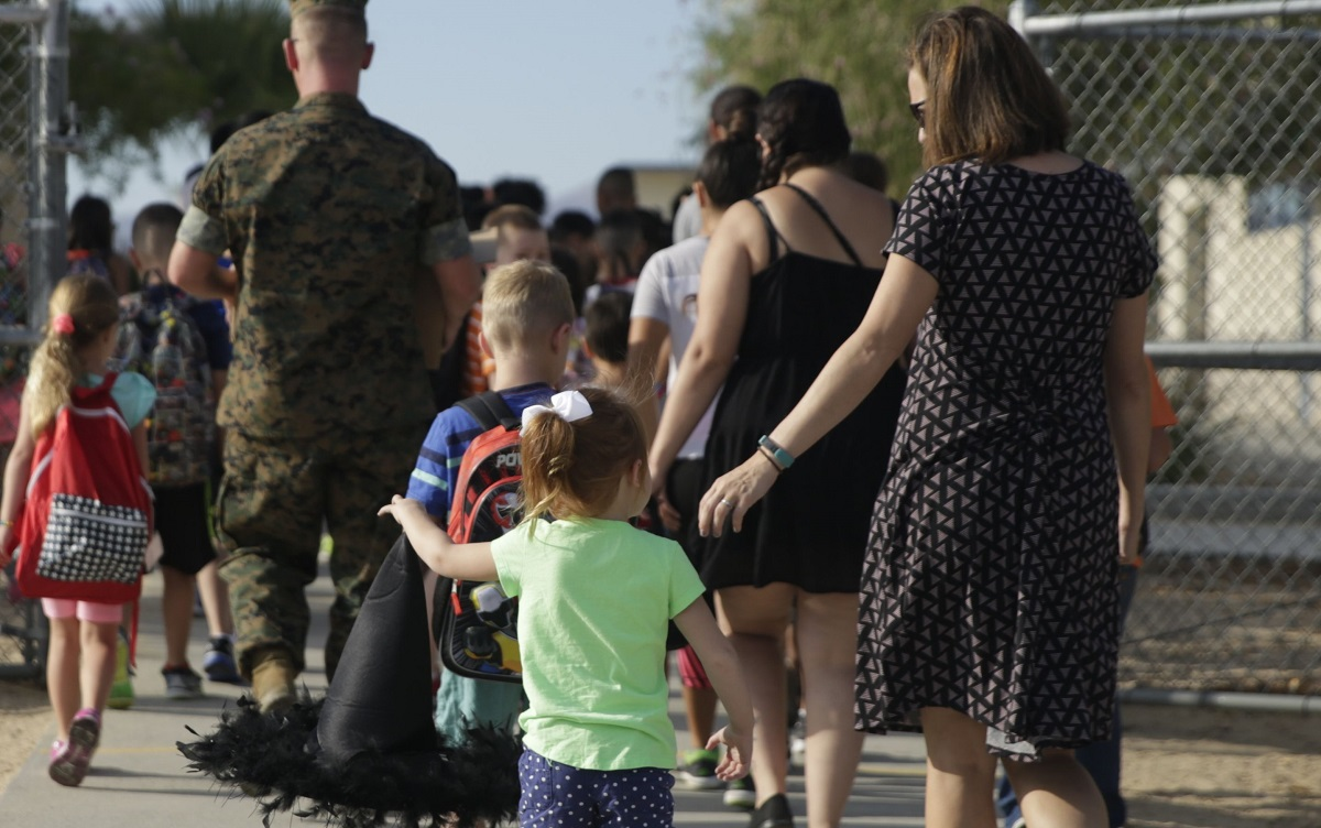 Should school quality and spouse employment help decide where troops are based?