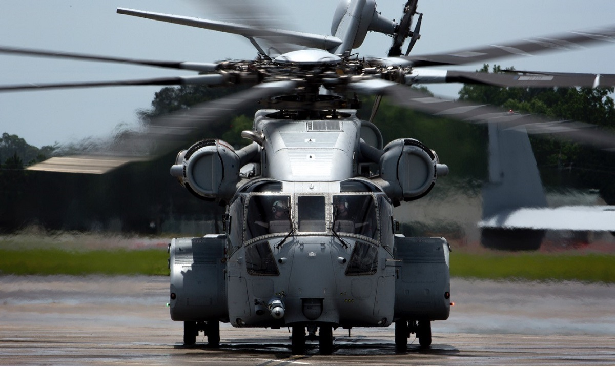 The Corps just received its first CH-53 King Stallion