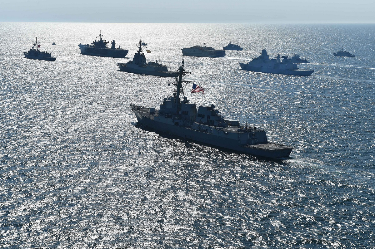 In the Baltic, shadowed by Russia, NATO allies focus on great power competition