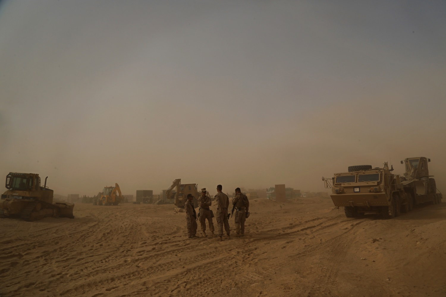 As ISIS caliphate crumbles, US builds outposts in western Iraq