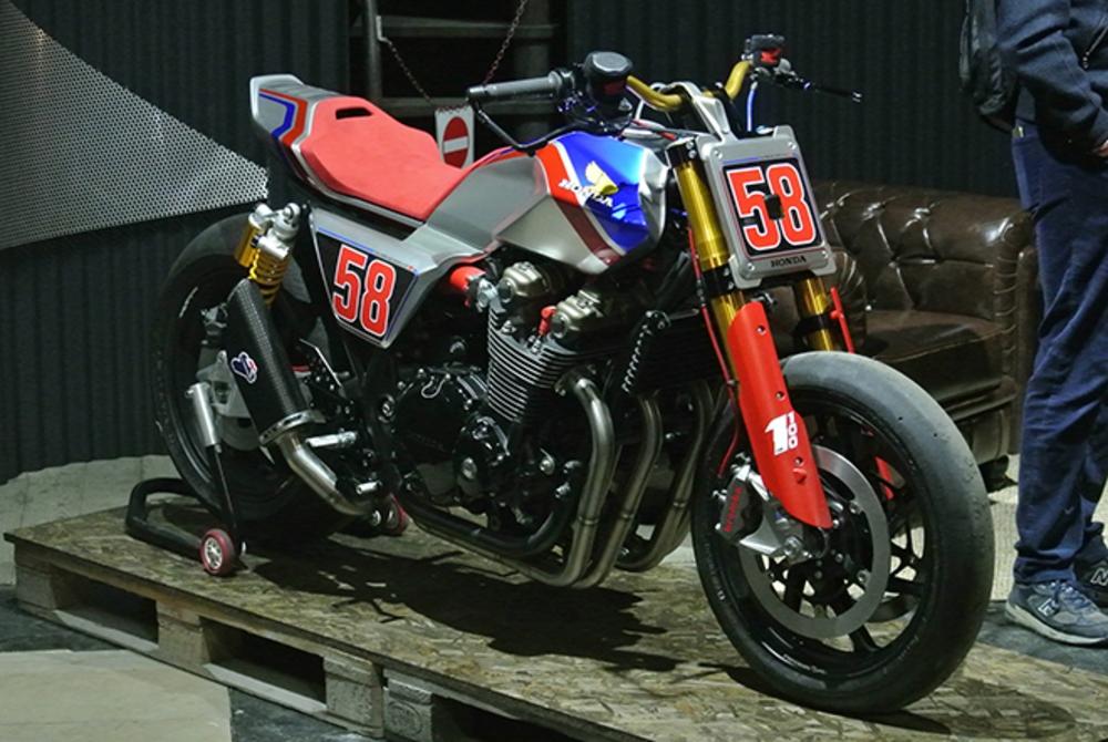 Honda's CB1100 TR Concept. (Morgan Gales)