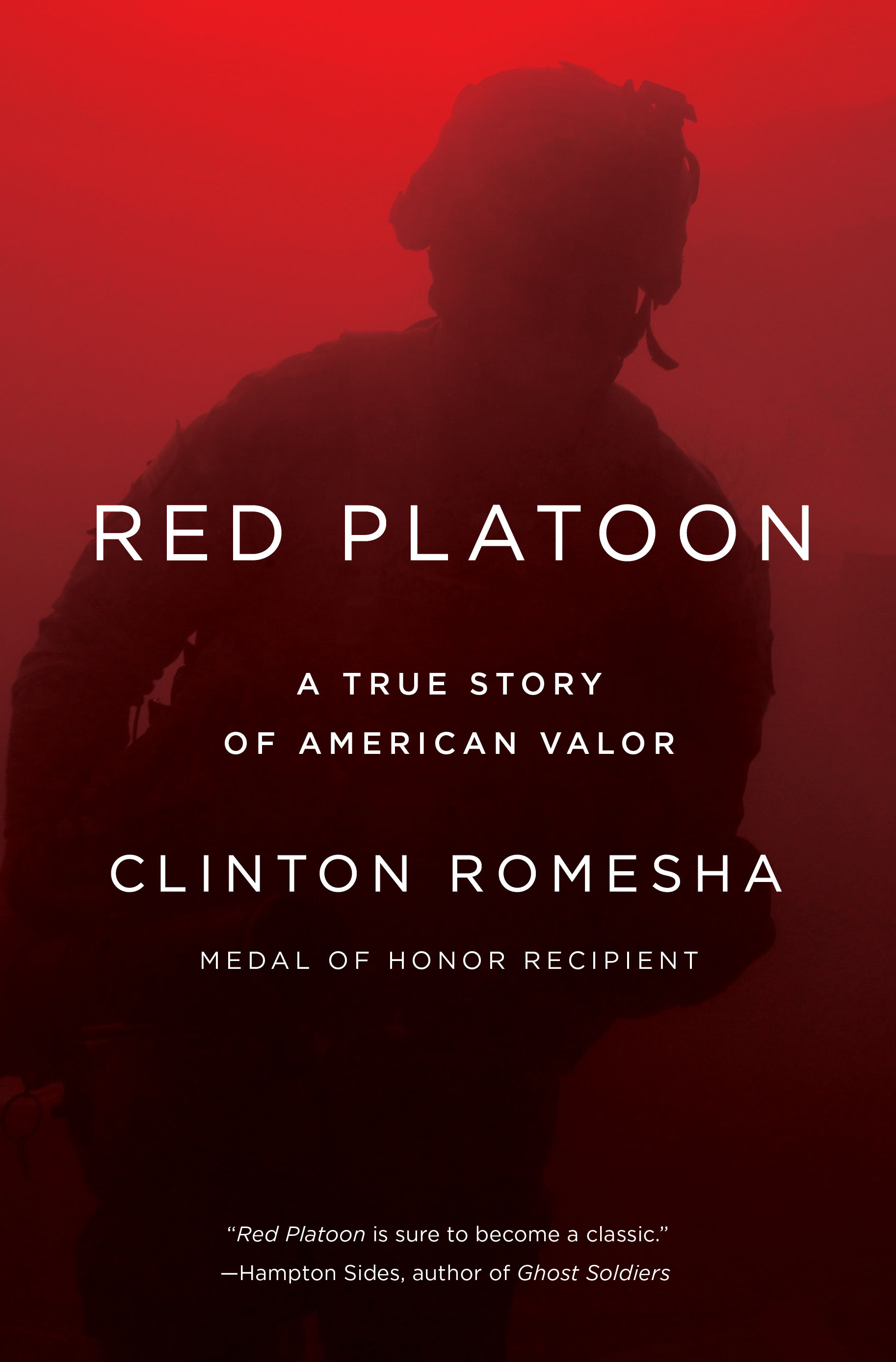 Memoir by Clint Romesha, MoH recipient, on sale May 3