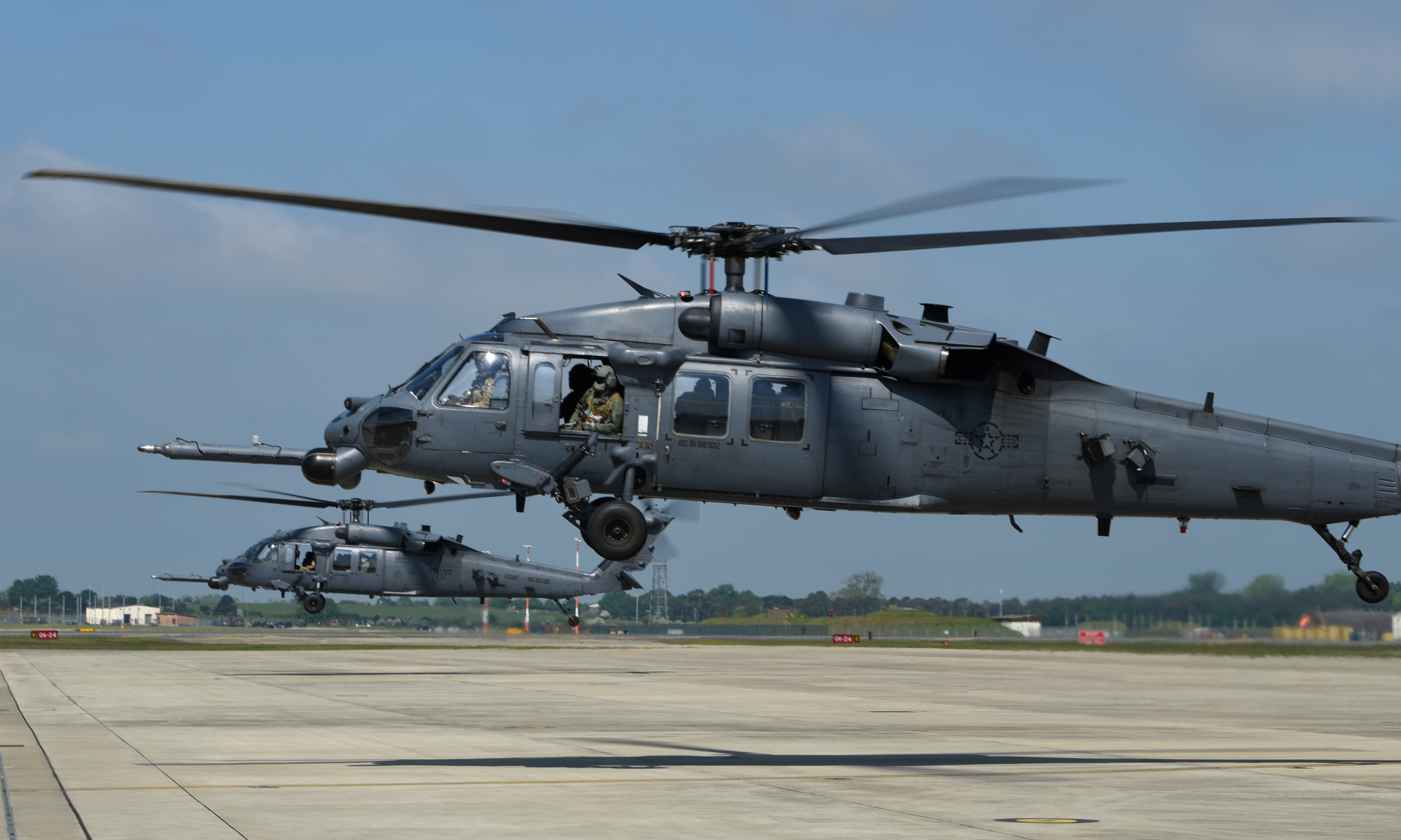 US Air Force rescue units move closer to Africa and Eastern Europe
