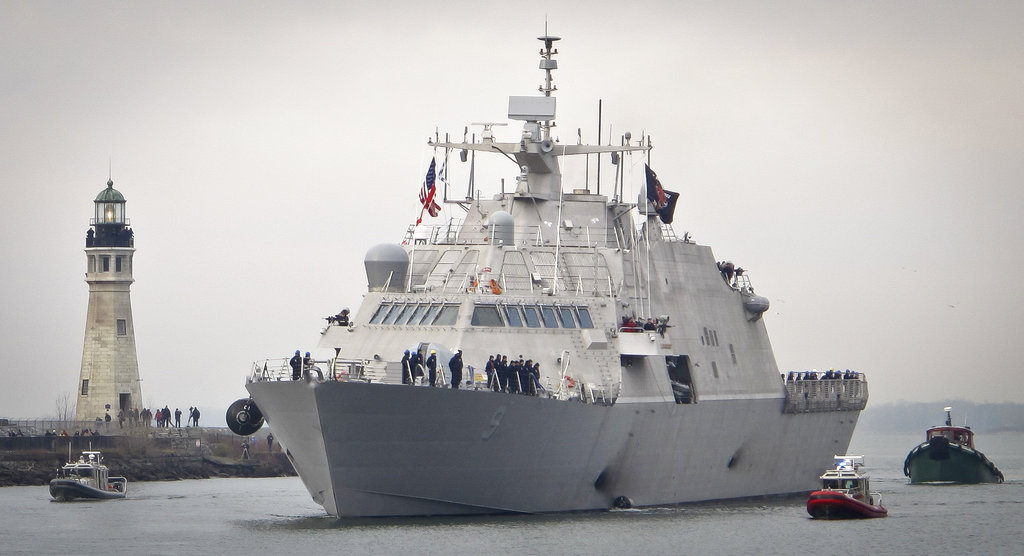 New LCS remains stuck in icy Canada
