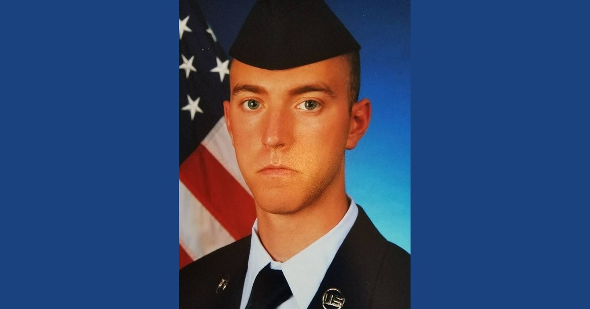 Airman 1st Class Bradley Hale was murdered while on a deployment to Guam in March 2018. His roommate, A1C Isiaah Edwards, was sentenced to 35 years in prison Tuesday. (Air Force)