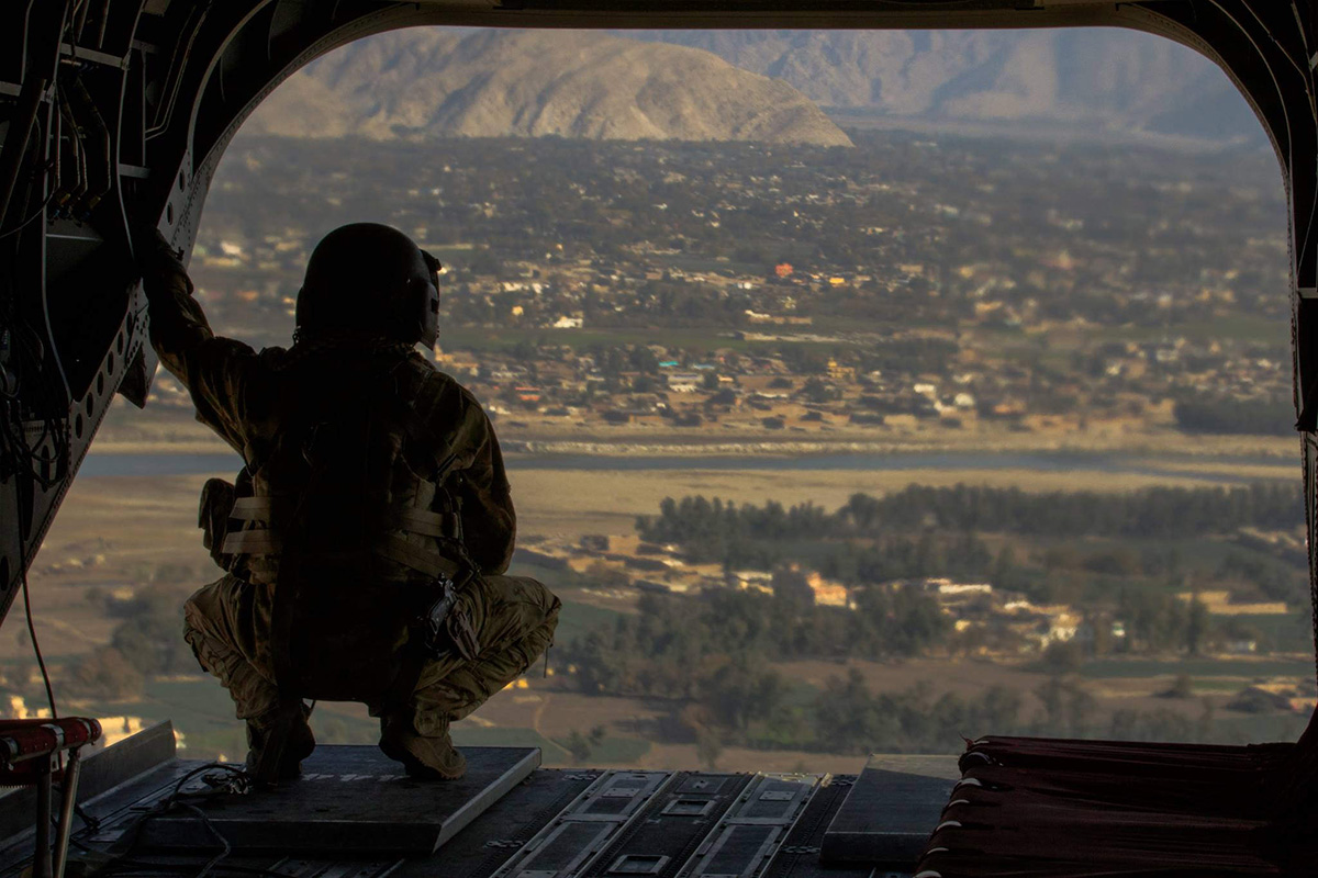 Why should the US stay in Afghanistan? Here's what the top commander there said.