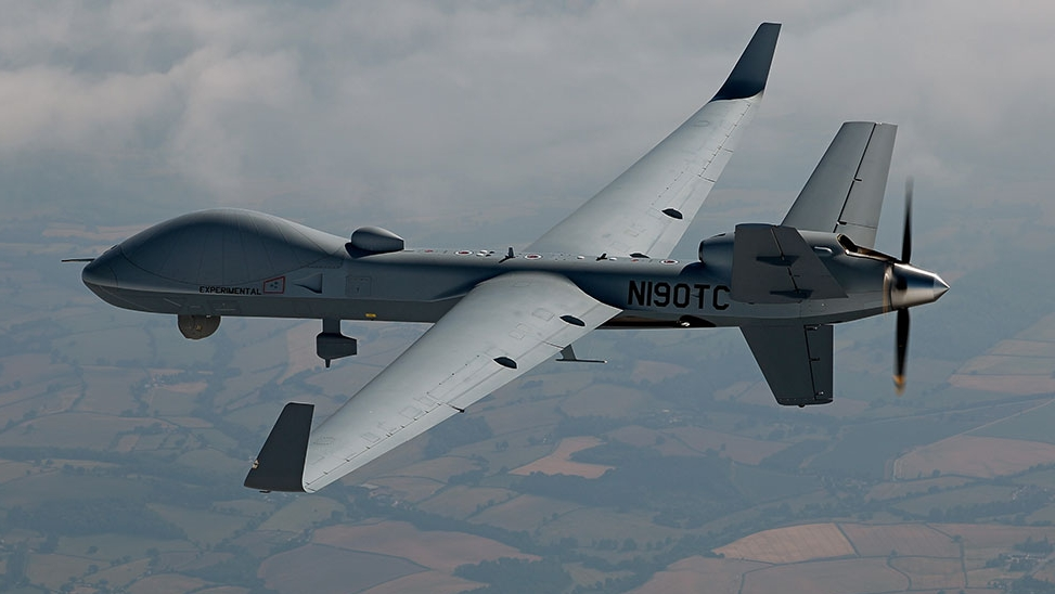The British Royal Air Force's MQ-9B variant is called Protector RG Mk1. (General Atomics)