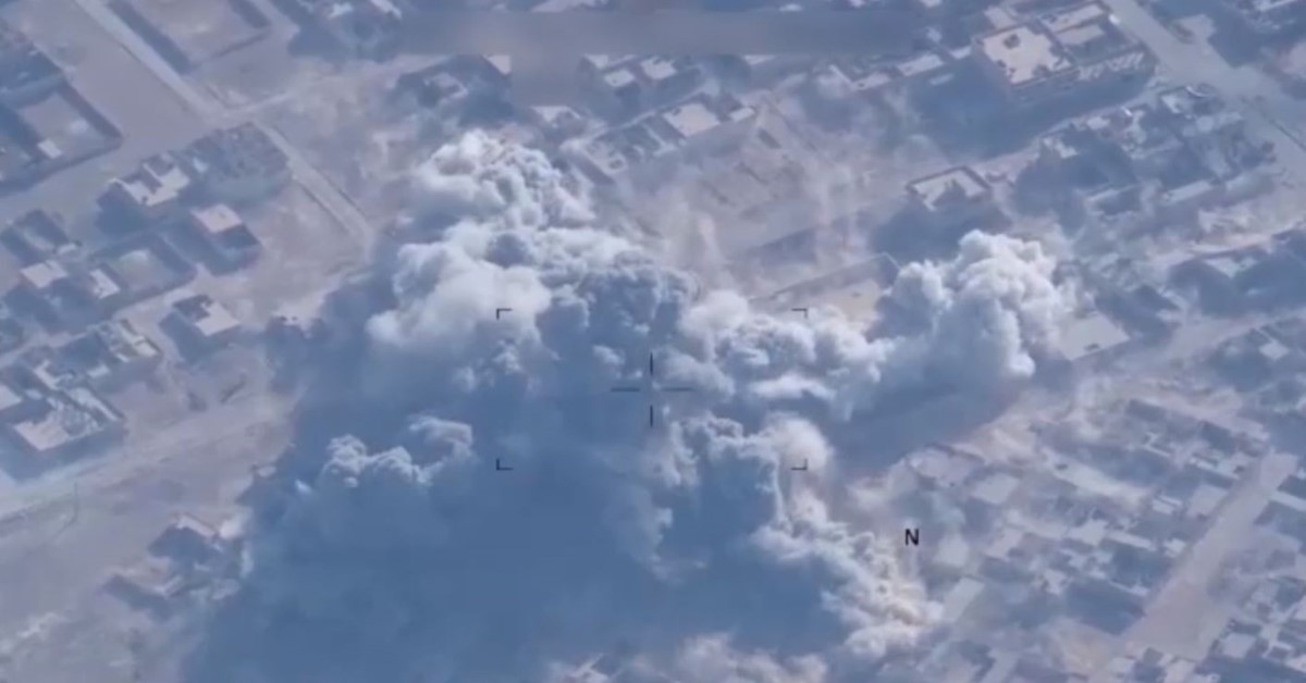 US airstrikes decimate nearly 150 ISIS militants