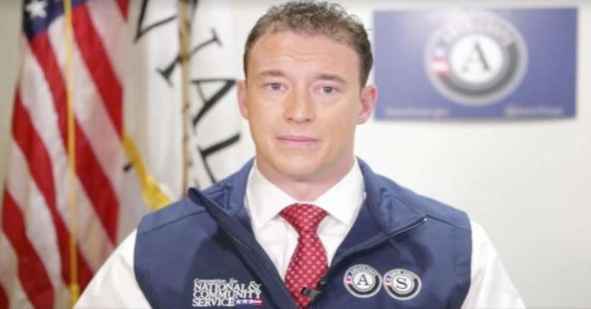 Carl Higbie, a former Navy SEAL, resigned Thursday from the federal agency overseeing AmeriCorps after past comments disparaging Muslims, gays, blacks, veterans with PTSD and undocumented immigrants were uncovered by the media. (CNCS/ Facebook)