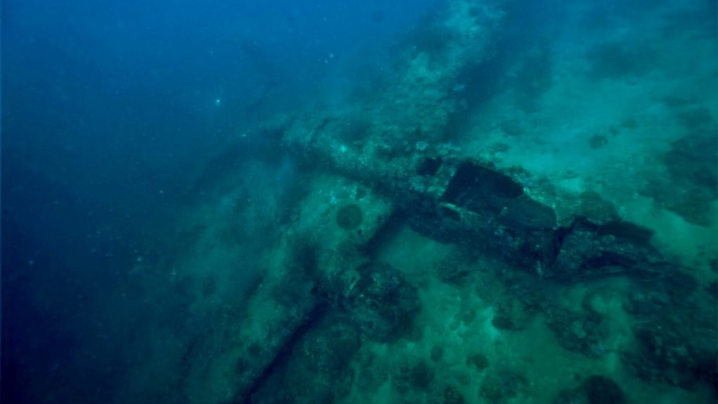 Lost and found: Missing World War II B-25 bombers discovered in waters off Papua New Guinea