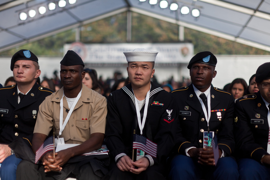 Lawsuit: Green-card holders face bias in US military policy