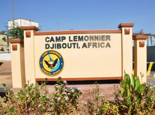 A sailor is accused of fatally striking a man with a government vehicle near Camp Lemonnier, Djibouti. (Defense Logistics Agency)