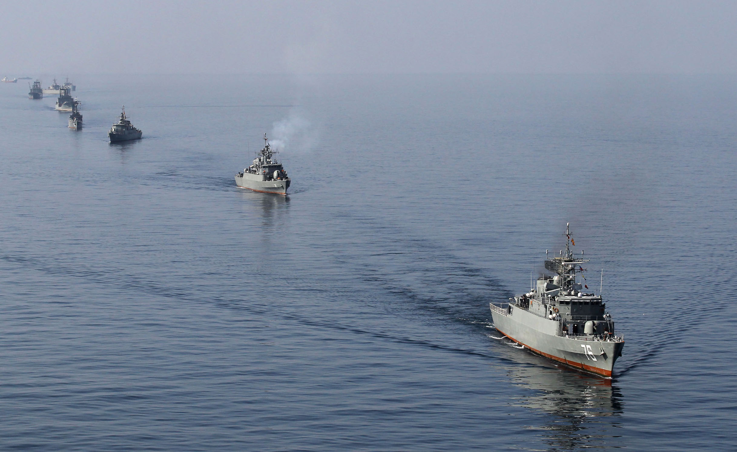 No harassment of US ships by Iran despite nuclear deal demise, says Navy's top officer