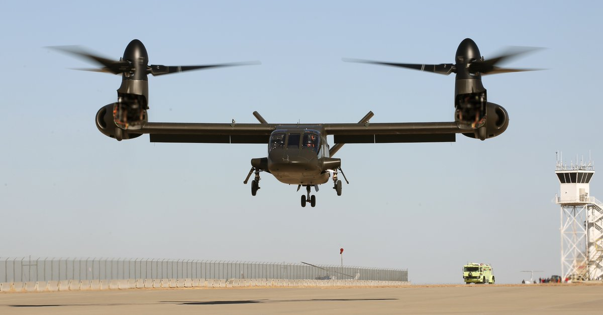 V-280 Valor flies for the first time
