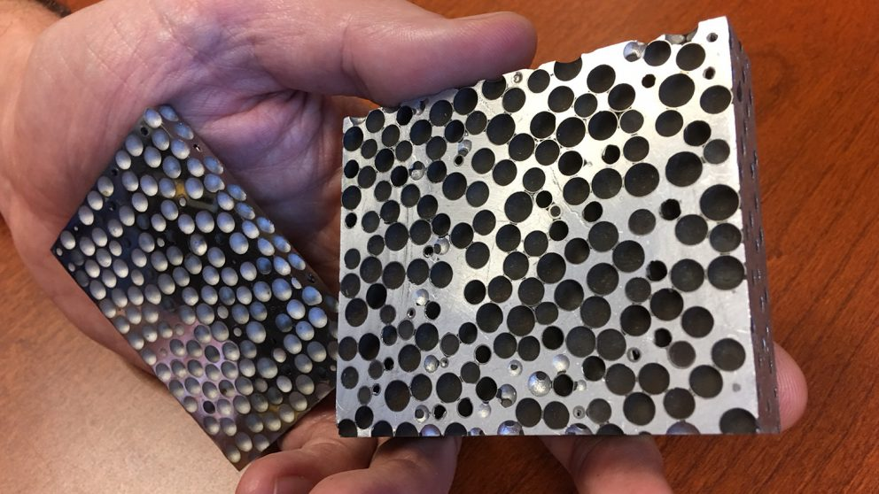 armytimes.com - Charlsy Panzino - Metal foam stops bullets without cracking