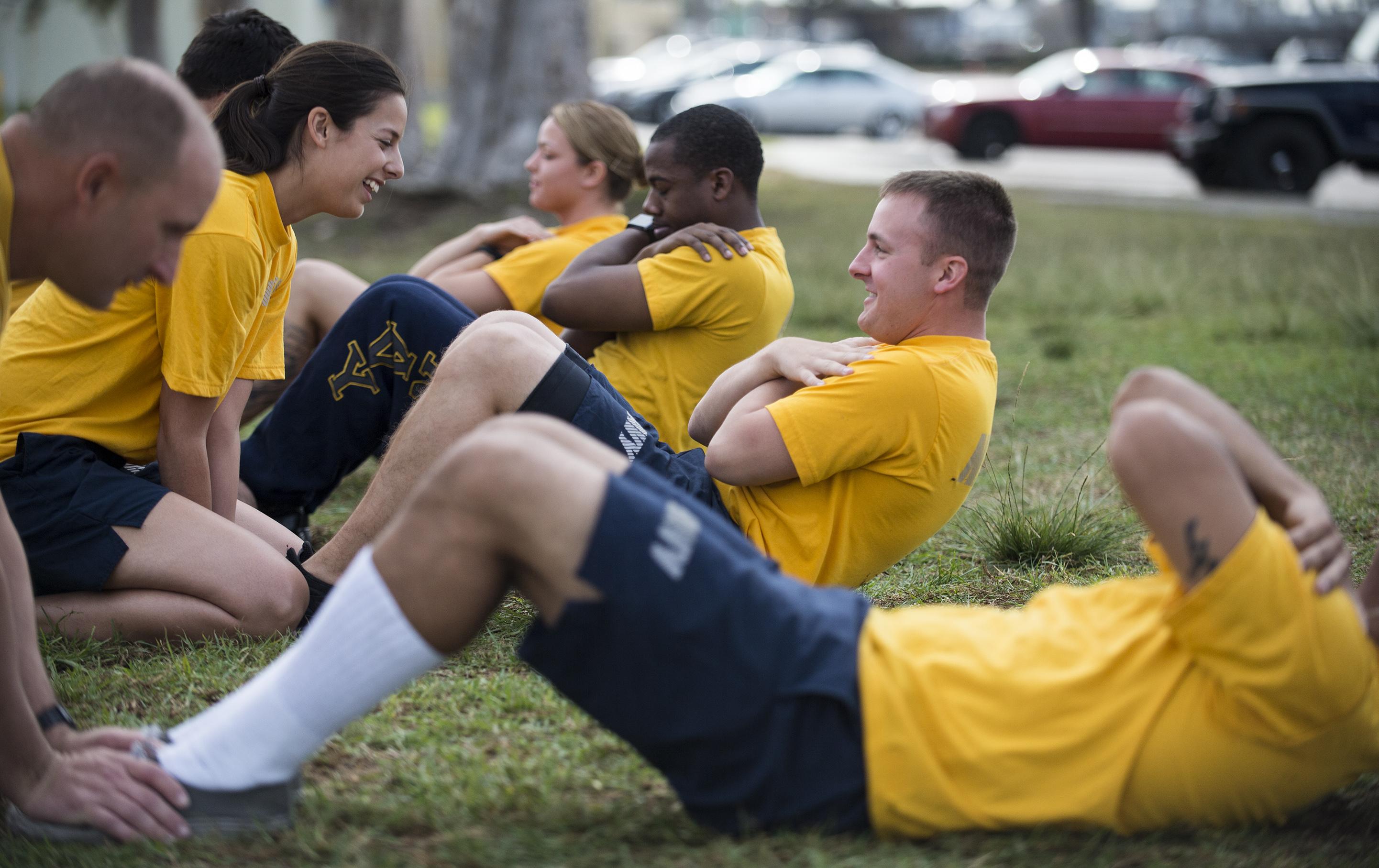 Expert: Navy fitness test needs work
