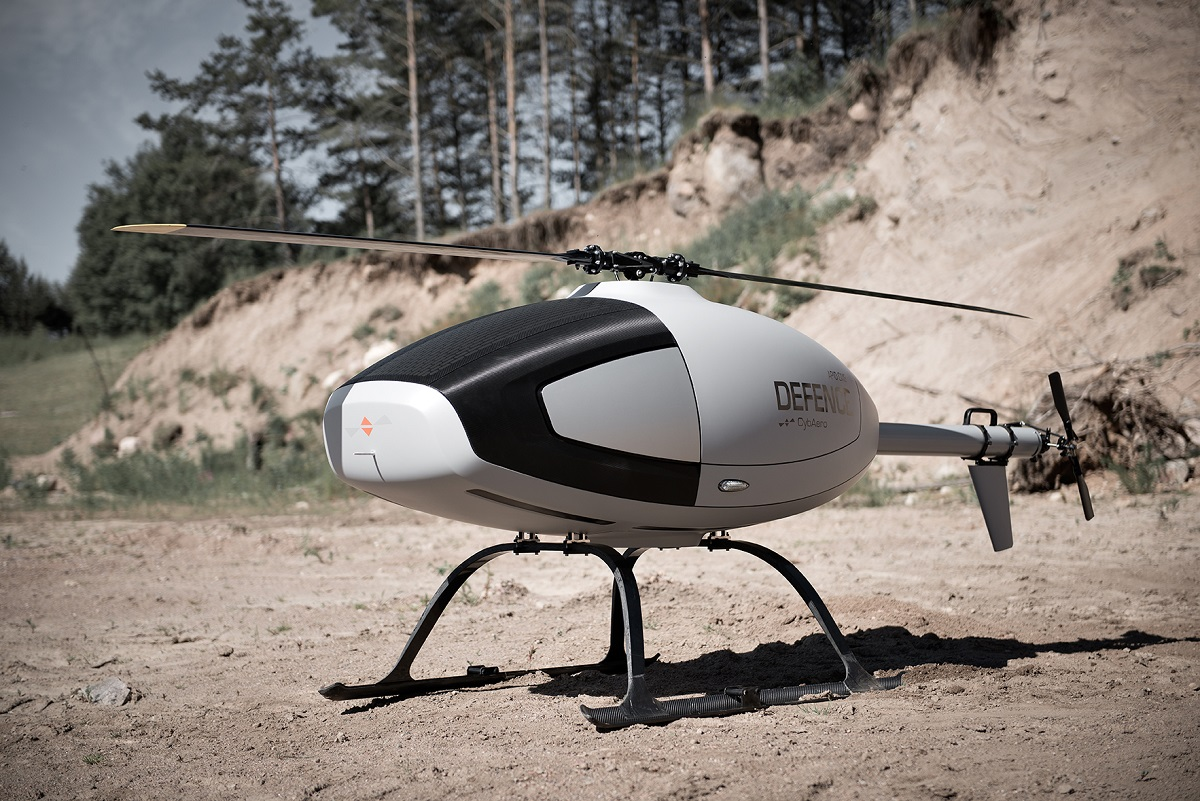 The APID One unmanned helicopter is produced by Swedish drone-maker CybAero. (CybAero)