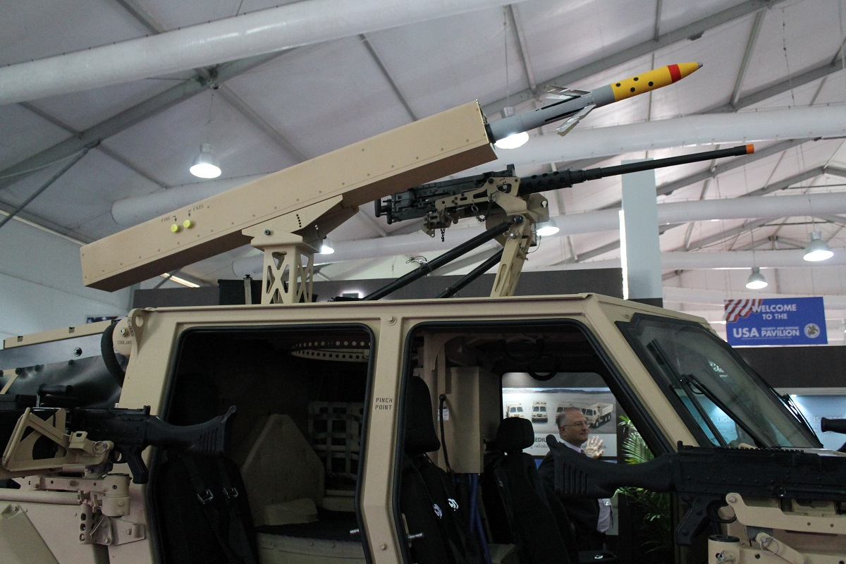 New rocket launcher for combat vehicles makes Middle East debut