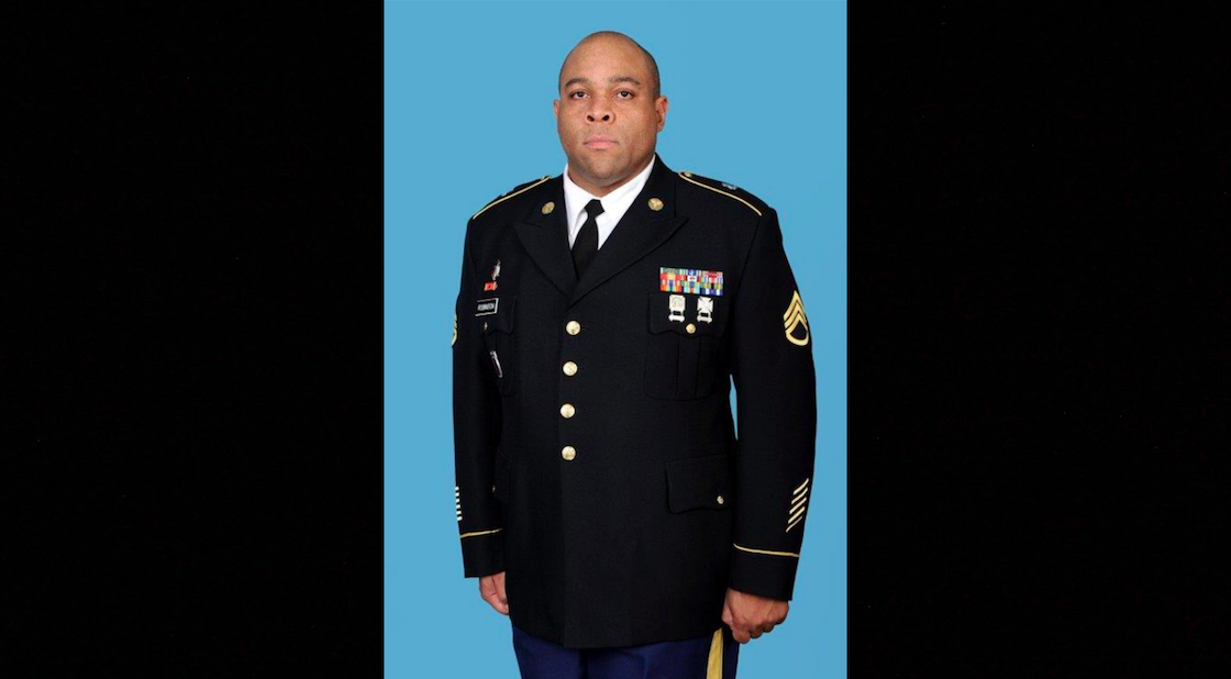 Staff Sgt. Conrad Robinson, 36, a U.S. Army soldier, died at Camp Bondsteel, Kosovo, Thursday. (Army)